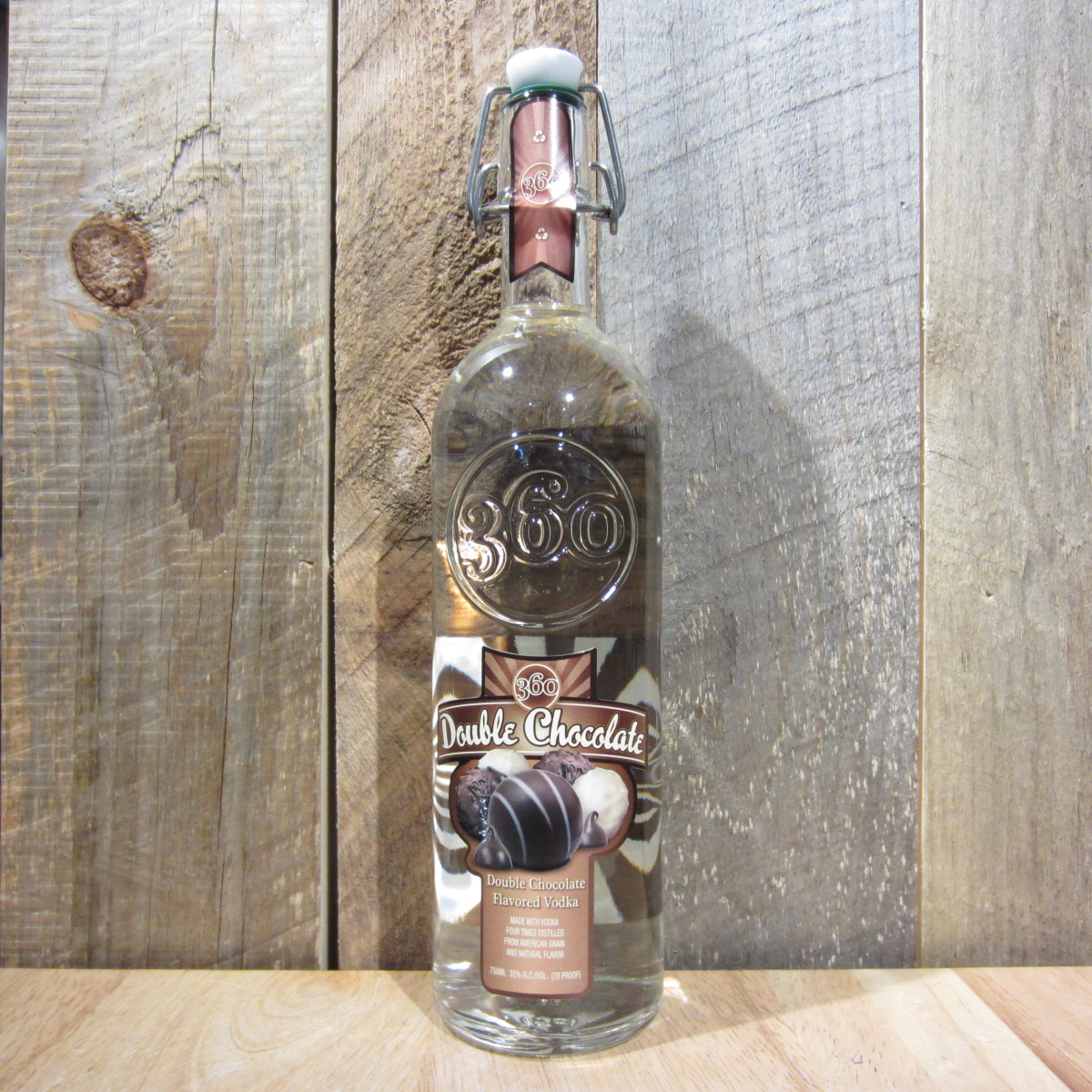 360 DOUBLE CHOCOLATE VODKA 750ML - Oak and Barrel
