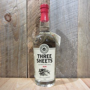 3 SHEETS WHITE RUM 750ML