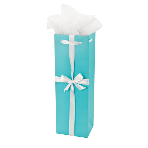 Audrey Turquoise Gift Bag