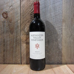 ALEXANDER VALLEY MERLOT 750ML