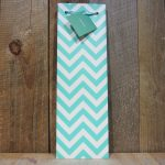 ASSORTED CHEVRON WINE GIFT BAGS