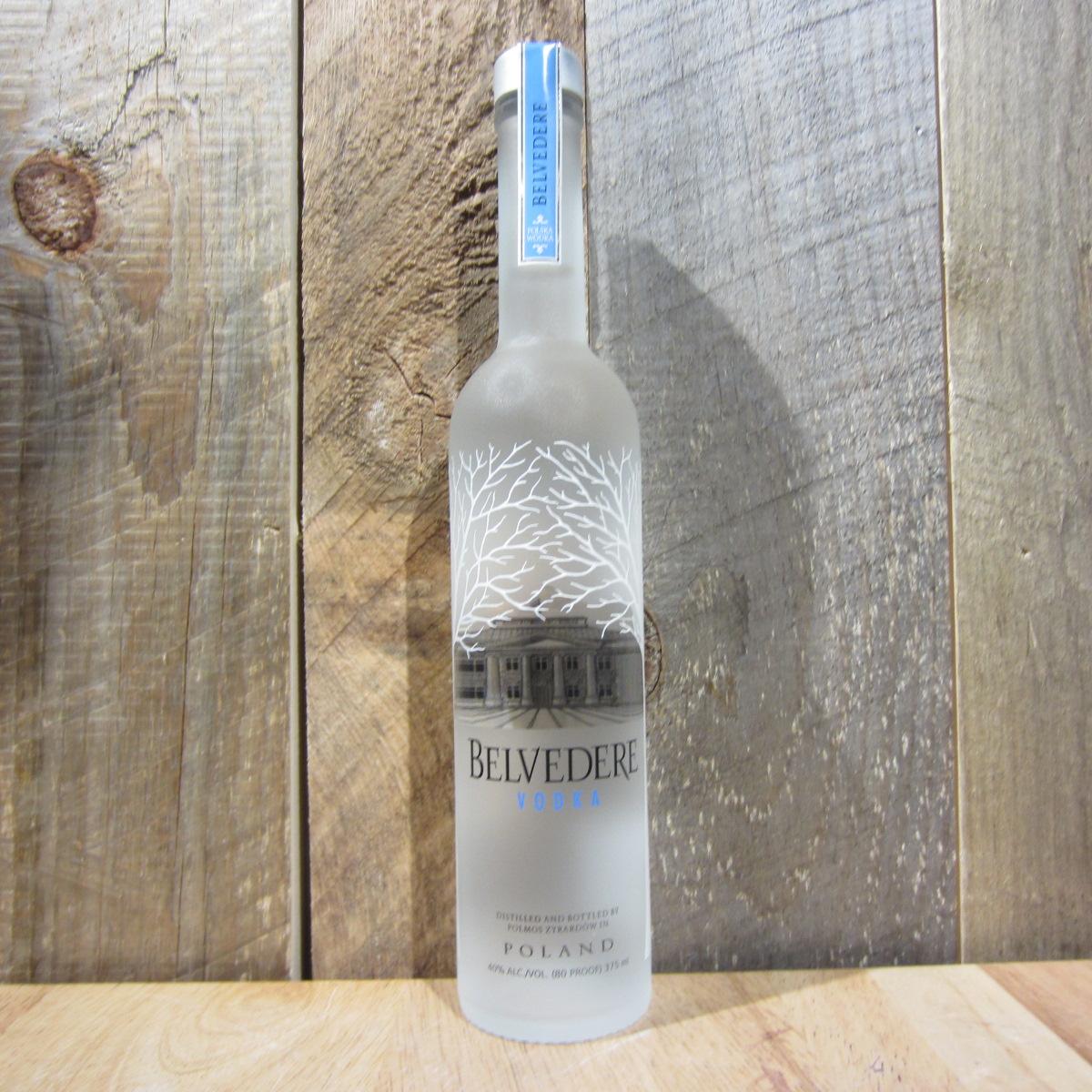 Belvedere Vodka 375ml (Half Size Btl)