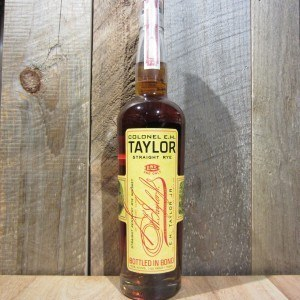 EH TAYLOR STRAIGHT RYE 100 750ML