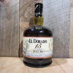 El Dorado 15 yr Rum 750ml