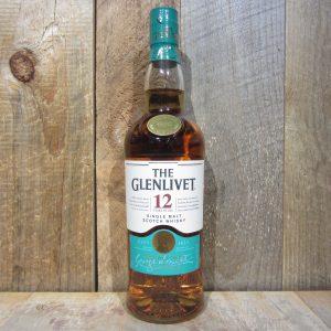 GLENLIVET 12 YR 750ML