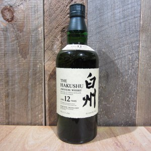 Hakushu Japanese Whiskey 12 Year 750ml