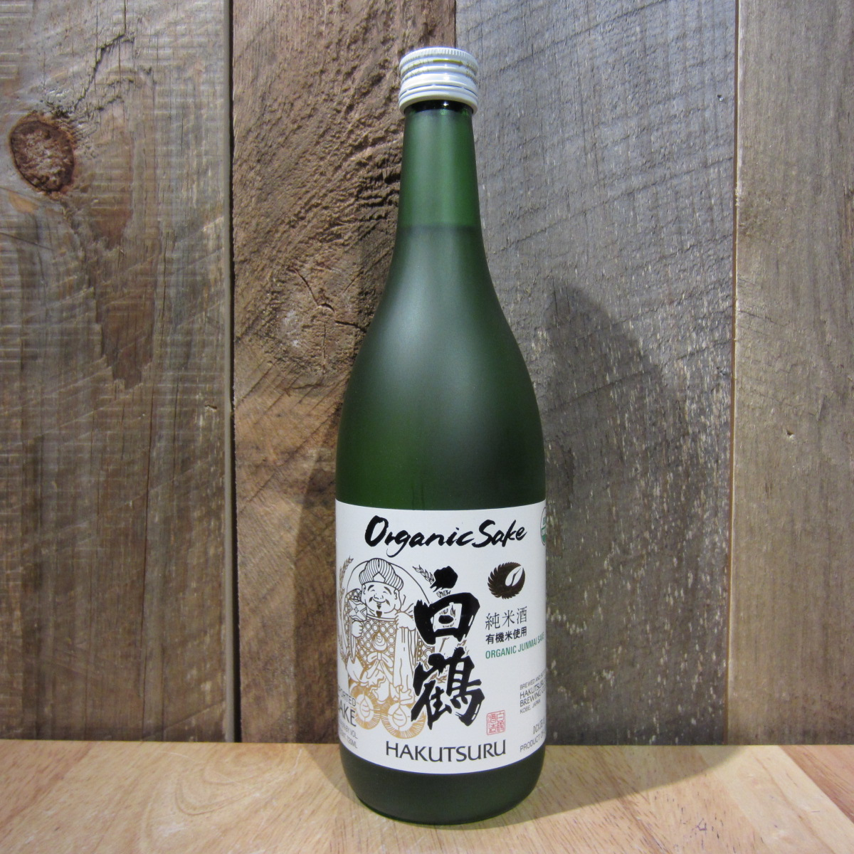 Hakutsuru Sake Junmai Original Organic 720ml