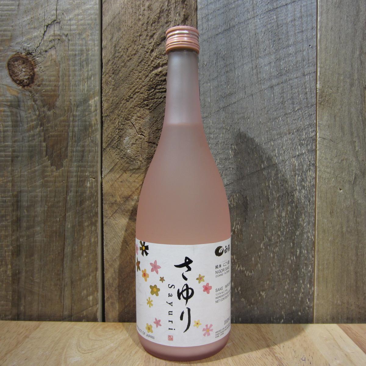 Hakutsuru Sayuri Junmai Nigori Sake 720ml
