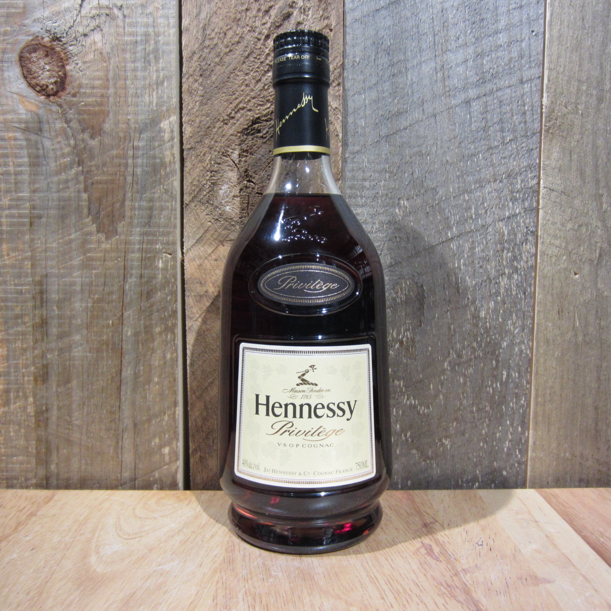 hennessy vsop privilege 750ml oak and barrel. Black Bedroom Furniture Sets. Home Design Ideas