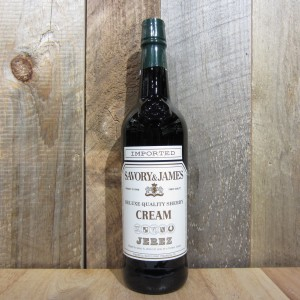 SAVORY & JAMES CREAM SHERRY 750ML
