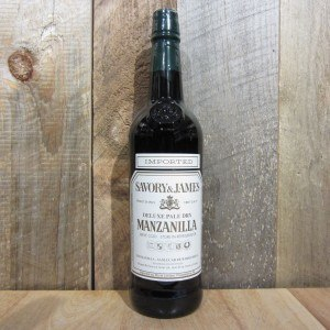 SAVORY & JAMES MANZANILLA SHERRY 750ML