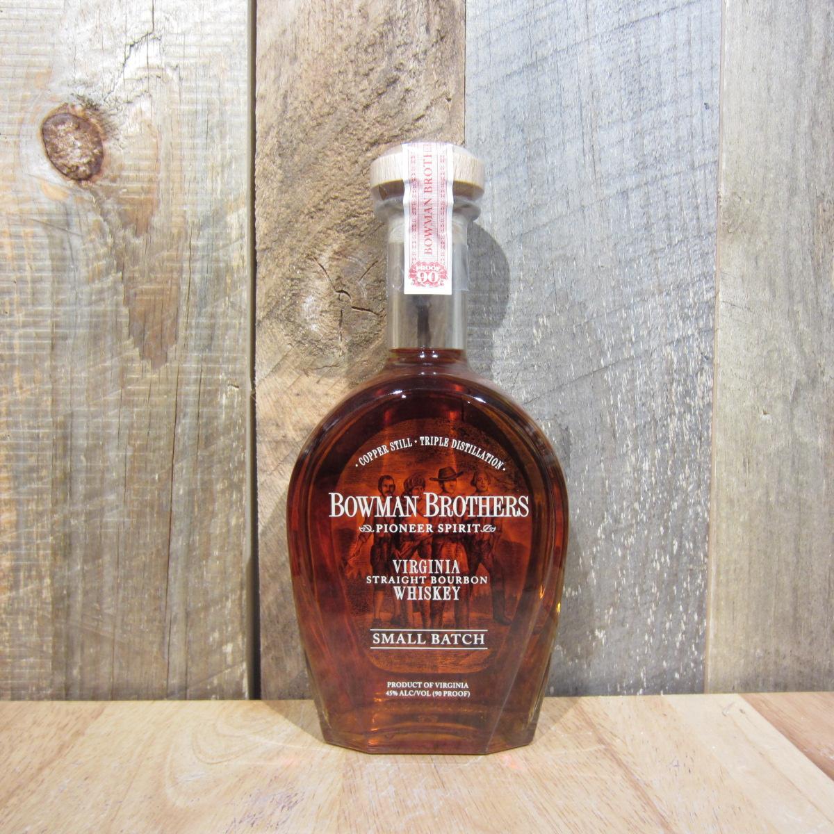 Bowman Bros Small Batch Bourbon 750ml