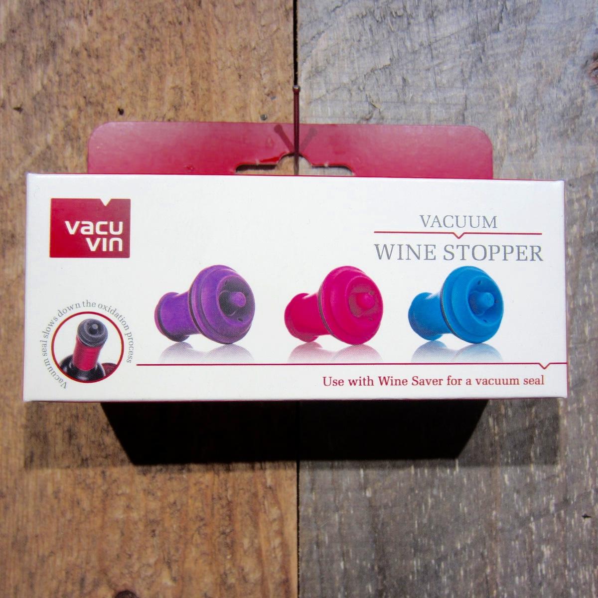 Vacu Vin Vacuum Stoppers Set Of 3