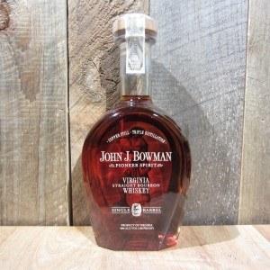 JOHN J BOWMAN SINGLE BARREL BOURBON 750ML