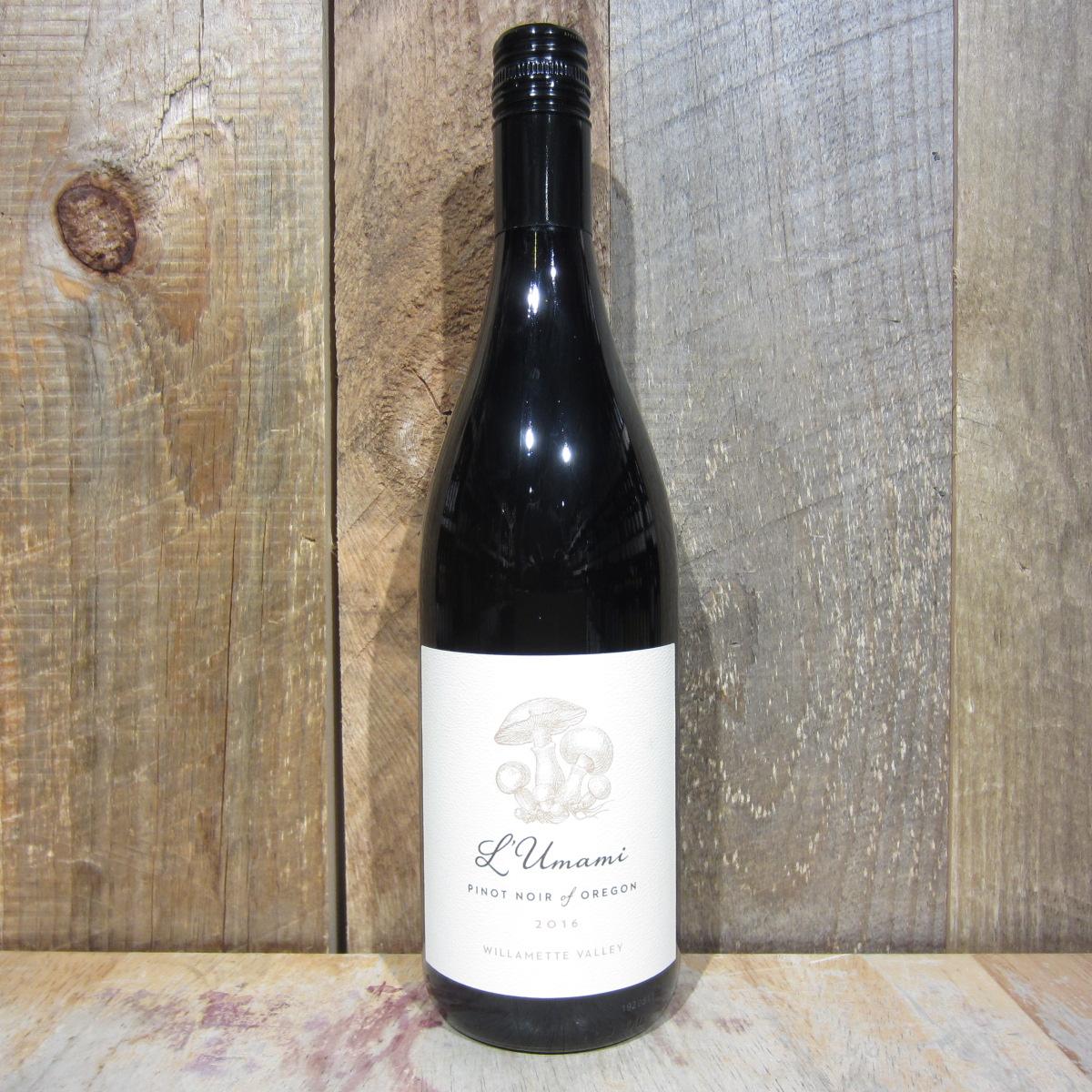 L'Umami Pinot Noir Willamette Valley 2019 750ml