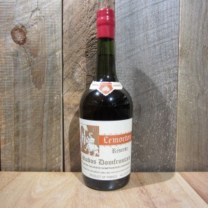 LEMORTON CALVADOS DOMFRONTAIS RESERVE 750ML