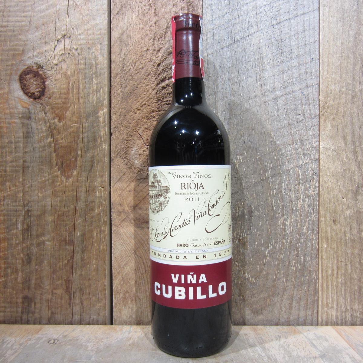 Lopez de Heredia Rioja Crianza Cubillo 2012 750ml