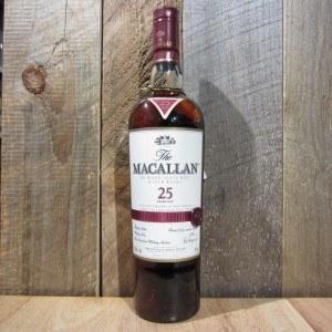 MACALLAN SHERRY CASK 25 YR 750ML