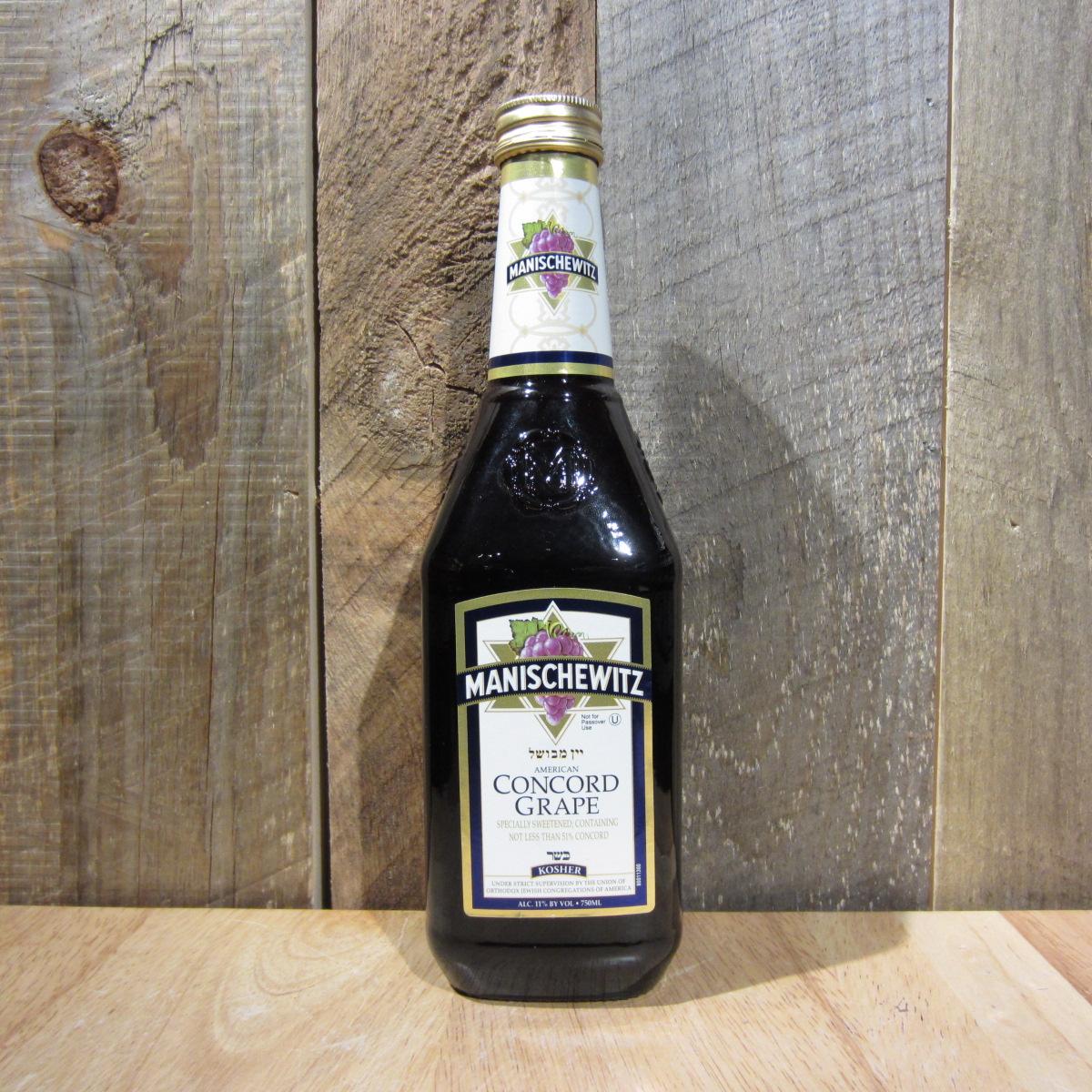 Manischewitz Concord Grape 750ml