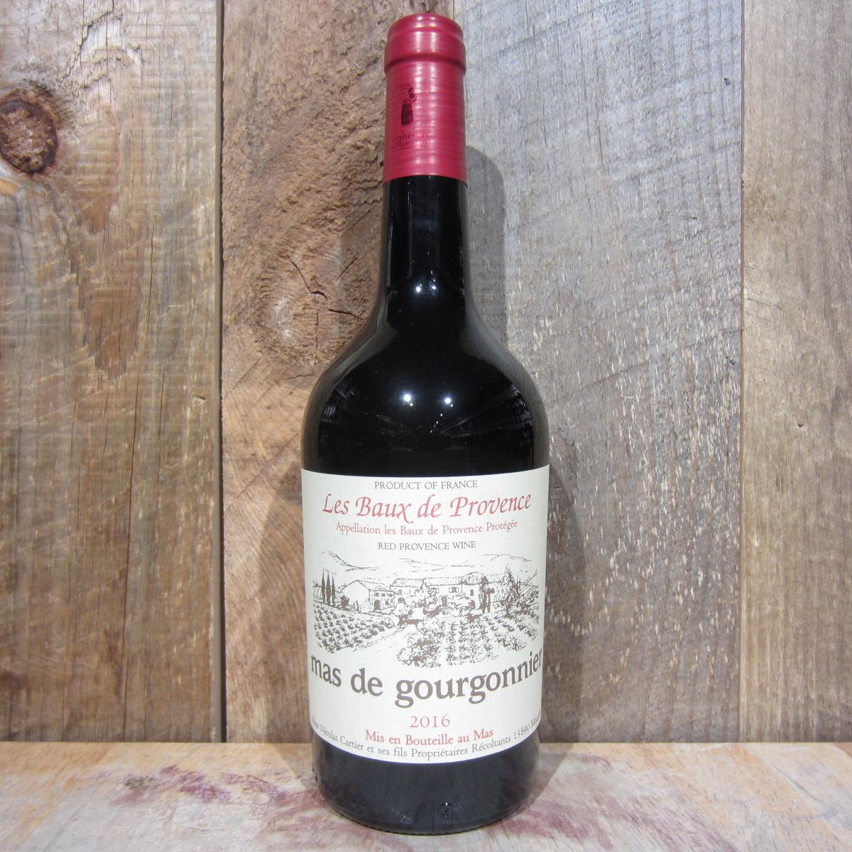 Mas de Gourgonnier Provence Rouge 750ml