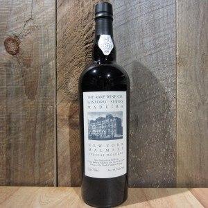 RARE WINE CO HISTORIC SERIES MADEIRA NEW YORK MALMSEY   750ML