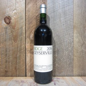 Ridge Geyserville Zinfandel 2016 750ml