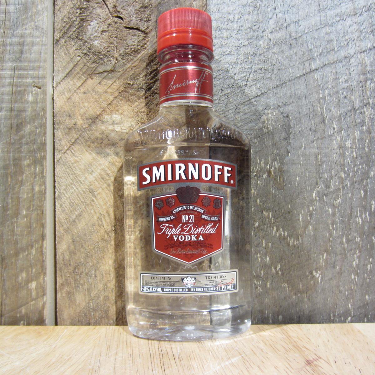 Smirnoff No. 21 Vodka 200ml (Half Pint)