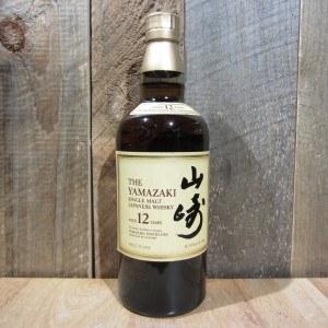 SUNTORY WHISKEY YAMAZAKI MALT 12 YR 750ML
