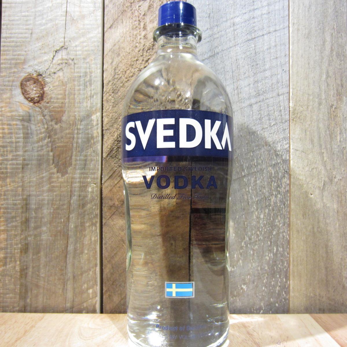 Svedka Vodka 175l Oak And Barrel
