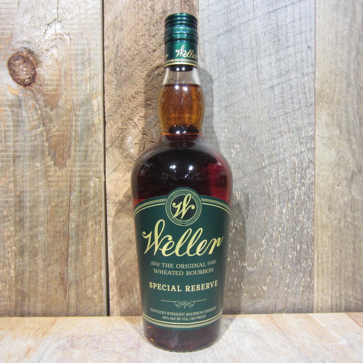 Weller Bourbon Special Reserve 750ml Oak And Barrel