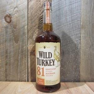 WILD TURKEY BOURBON 81 1L