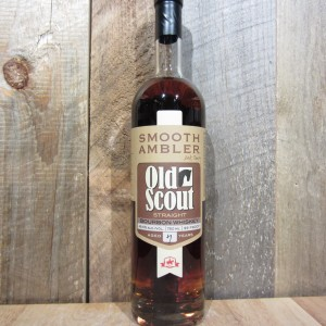 SMOOTH AMBLER OLD SCOUT BOURBON 750ML