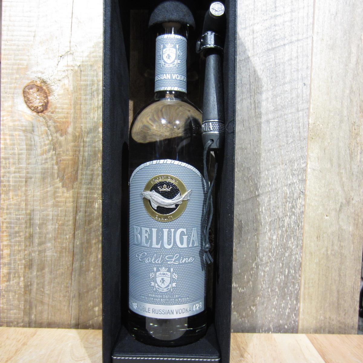 Beluga Vodka Noble Gold Leather 750ml