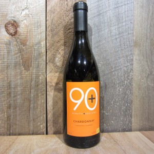 NINETY PLUS (90+) CHARDONNAY MENDOCINO LOT 122 750ML
