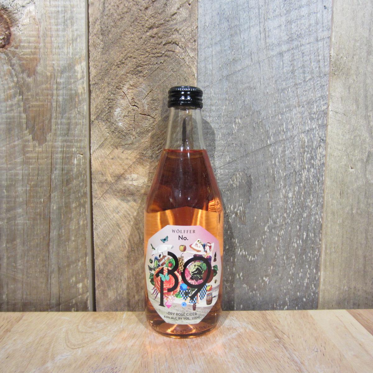 Wolffer Dry Rose Cider (Bottle) 355ml
