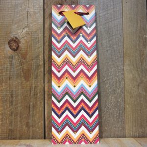 BOHO BRIGHTS CHEVRON GIFT BAG