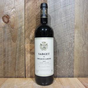 SARGET DE GRUAUD LAROSE SAINT-JULIEN 2000 750ML