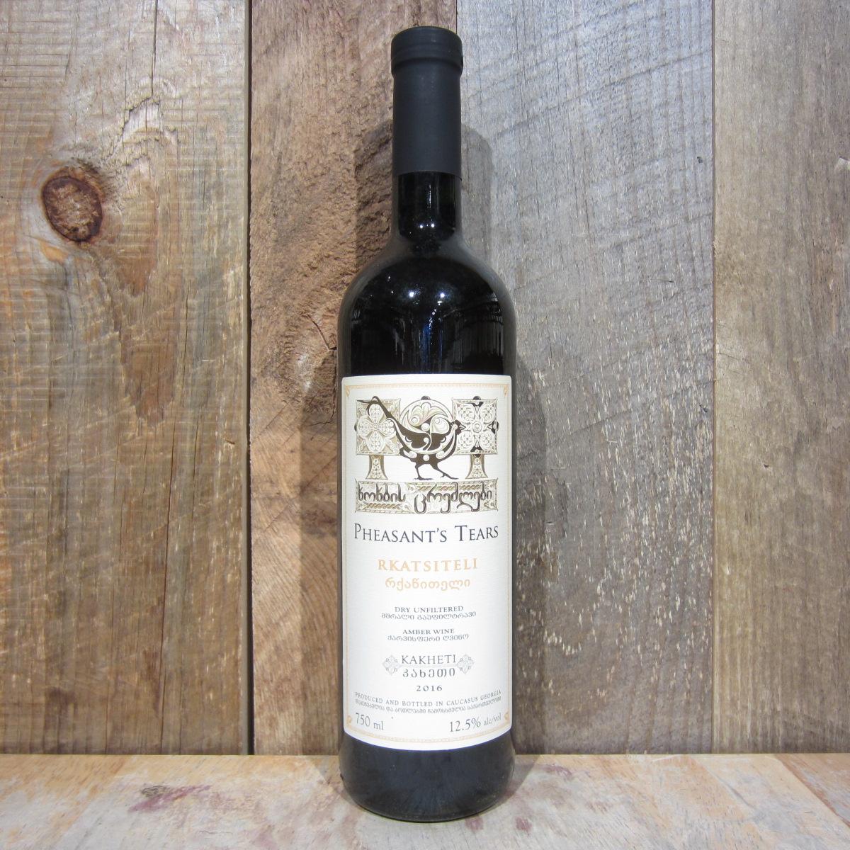 Pheasants Tears Rkatsiteli Amber Wine 2019 750ml