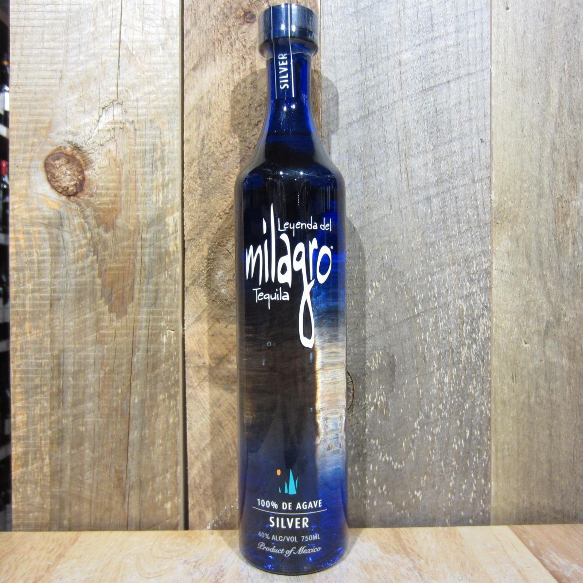 Milagro Silver 750ml Oak And Barrel
