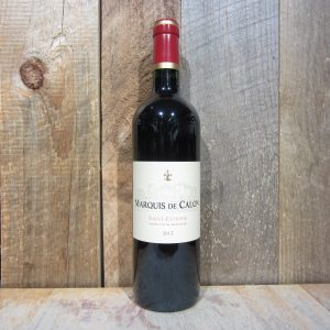 MARQUIS DE CALON SAINT ESTEPHE 2012 750ML