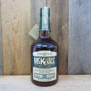 HENRY MCKENNA BOURBON SINGLE BARREL 10 YR 750ML
