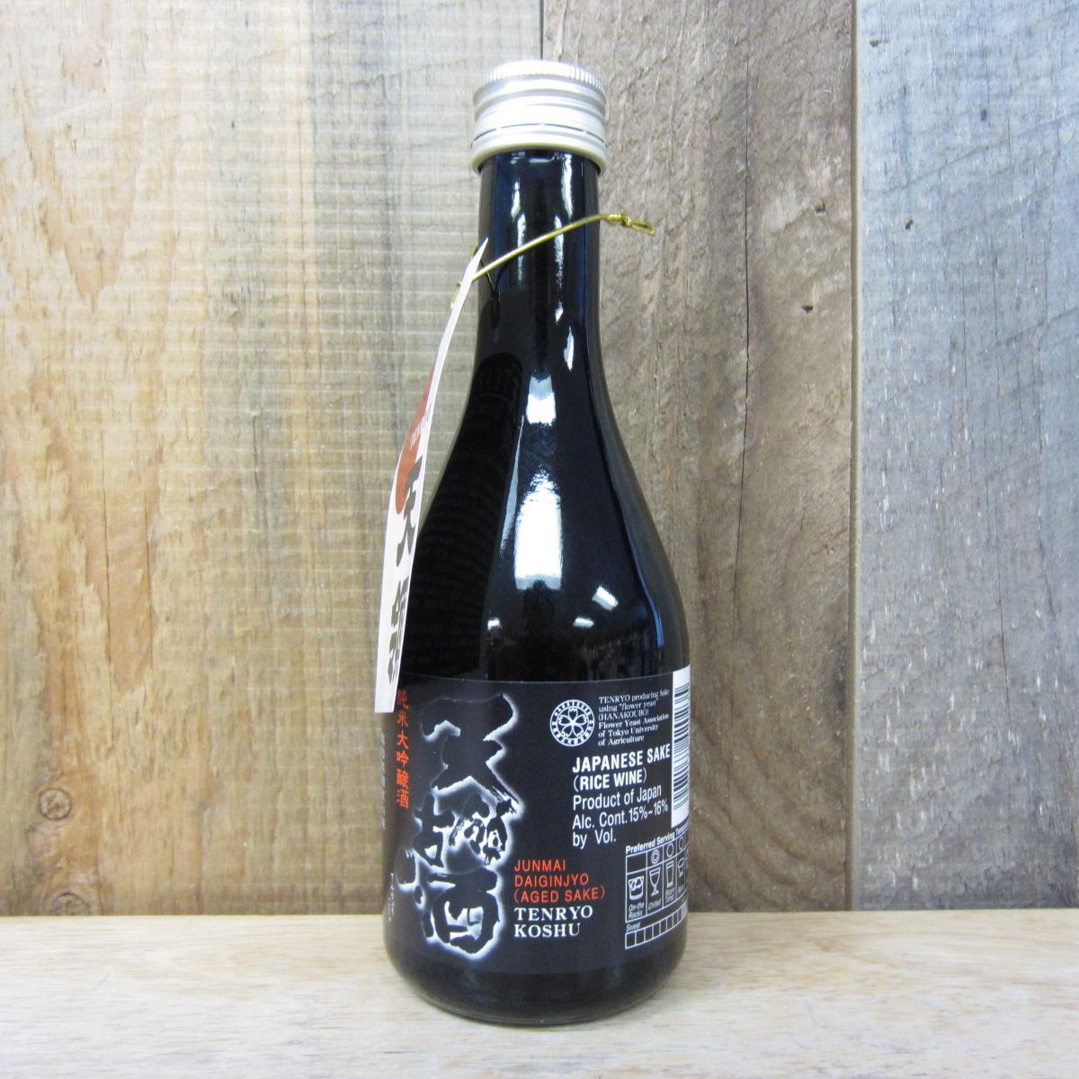 Tenryo Koshu Junmai Daiginjo Aged Sake 300ml