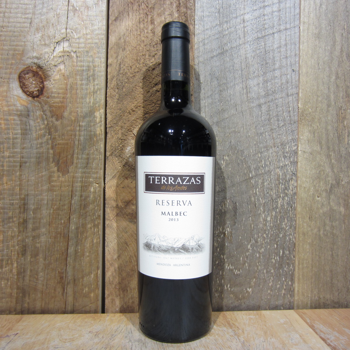 Terrazas Malbec Reserva 2015 750ml Oak And Barrel