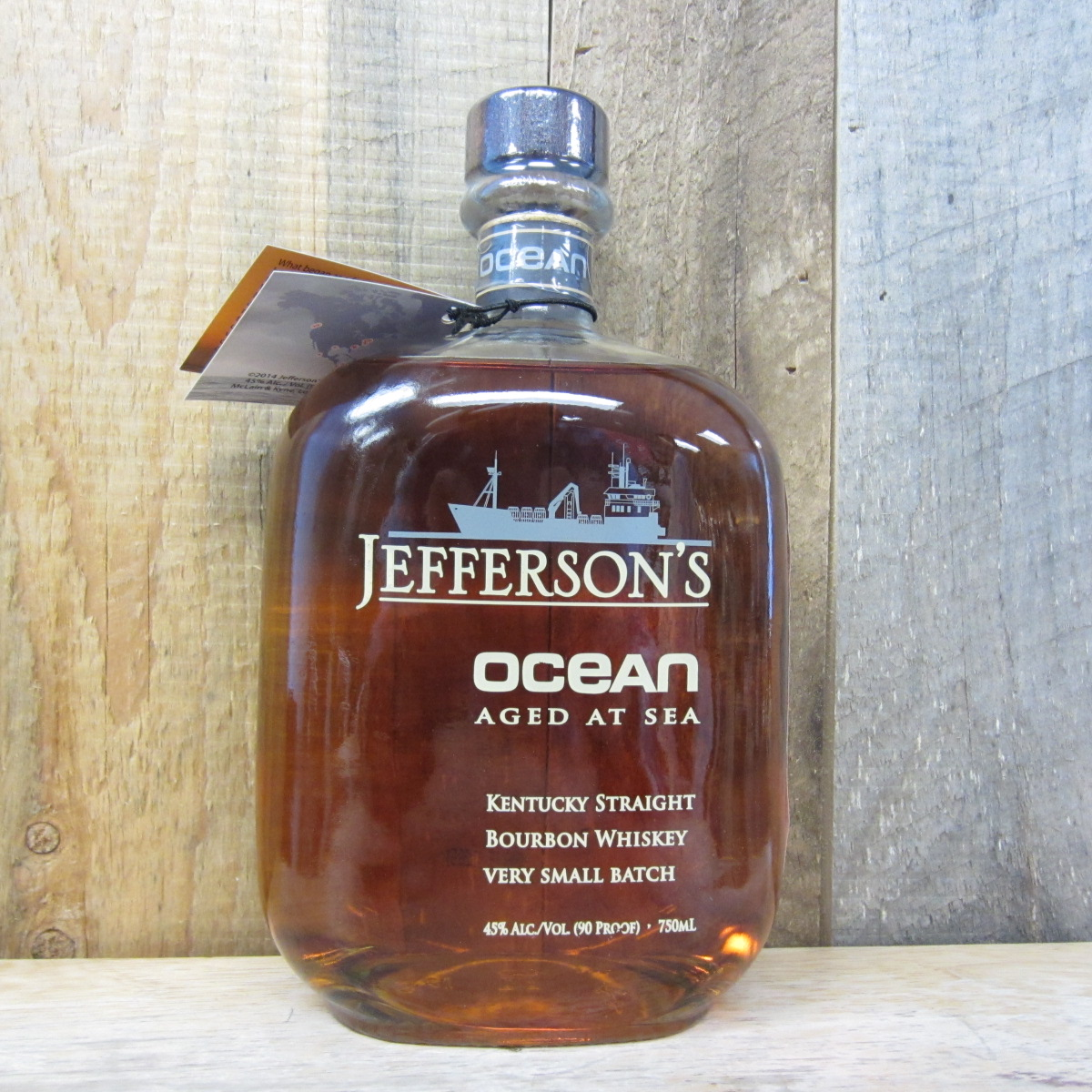 JEFFERSONS BOURBON OCEAN AGED AT SEA VOYAGE 16 750ML
