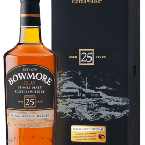 BOWMORE SCOTCH SINGLE MALT 25 YEAR 750ML