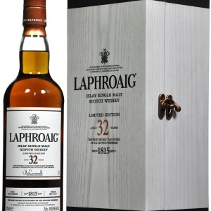 LAPHROAIG SINGLE MALT 32 YEAR 750ML