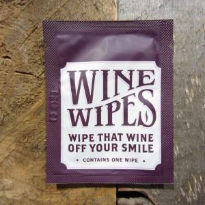 WINE WIPE SINGLES