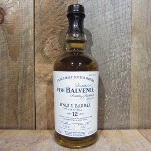 BALVENIE 12YR SINGLE BARREL SCOTCH 750ML