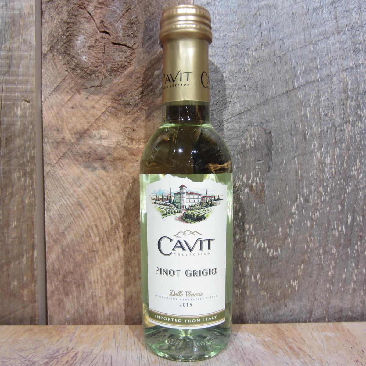 Cavit Pinot Grigio 187ml (Quarter Btl)