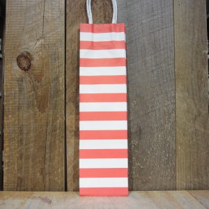 KRAFT RED STRIPE BOTTLE BAG